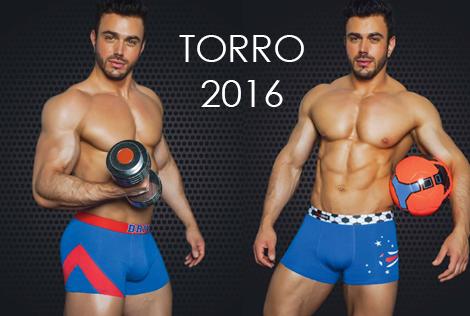Новая коллекция мужского белья Torro 2016 года