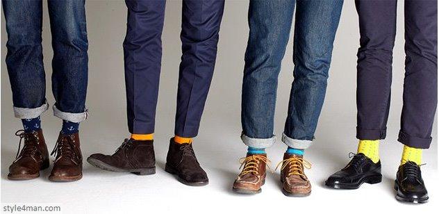 Мужские цветные носки