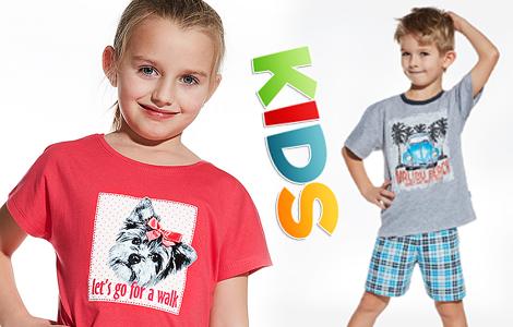 Детские пижамы из хлорка Cornette