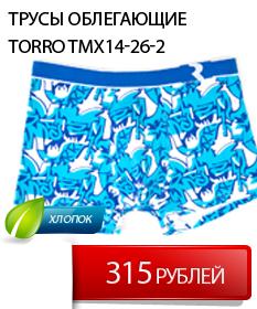 Мужские трусы Torro купить в СПБ