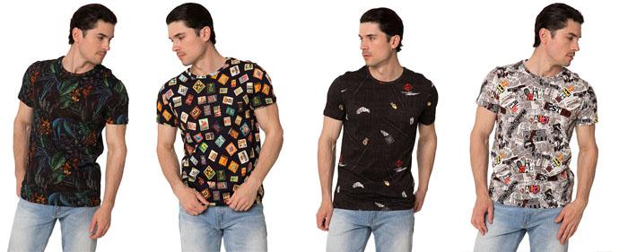 Молодежные футболки John Frank