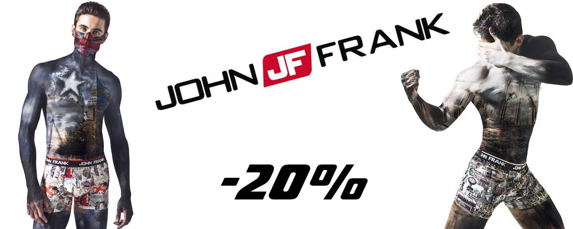 Новая коллекция мужского белья John Frank 2021