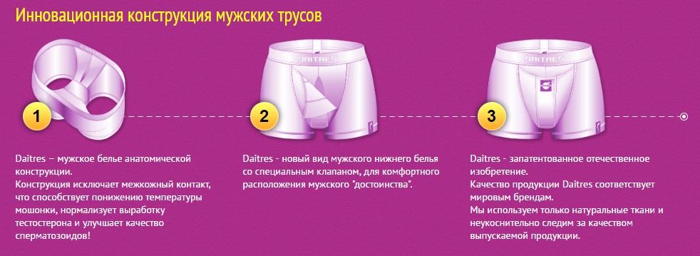 daitres мужское белье